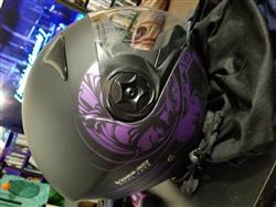marissa b. verified customer review of 303 Dual Lens Gloss White Open Face Helmet