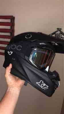 Jacob C. verified customer review of 801 X1 Pro Motocross Helmet - Blue Magneto
