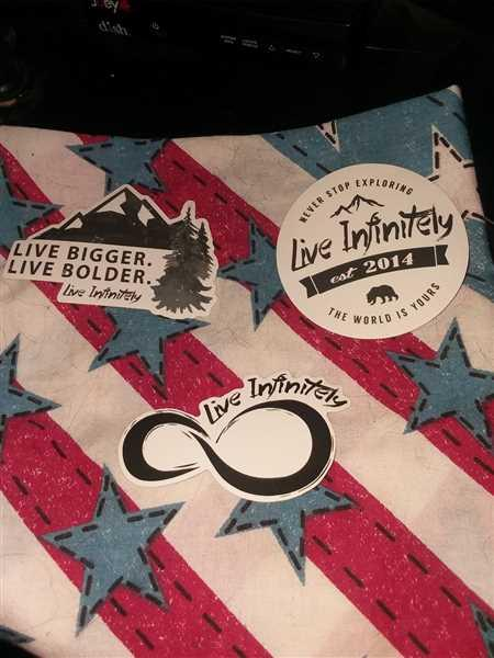 Live Infinitely  Live Infinitely Sticker Pack Review