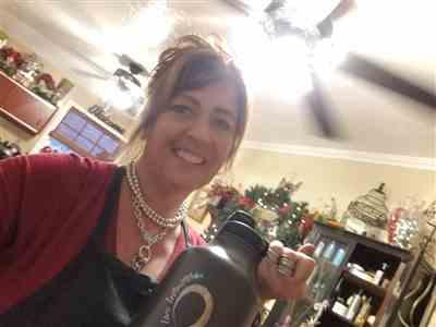 Angela Rose verified customer review of 64 oz Vacuum Insulated Water Bottle With FREE Straw Lid & Dust Cap Lid