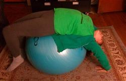 Jenei O. verified customer review of Professional Grade Anti-Burst Exercise Ball