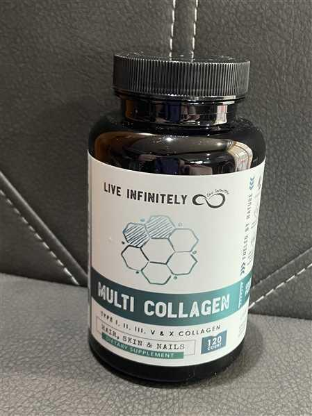 Live Infinitely  Multi Collagen Capsules Review