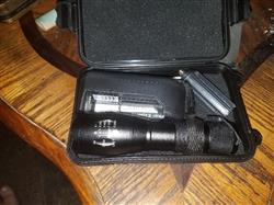David M. verified customer review of Stealth Angel Tact-1200 Flashlight Kit