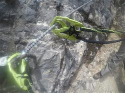 Sharon I. verified customer review of Edelrid Cable Comfort 5.0