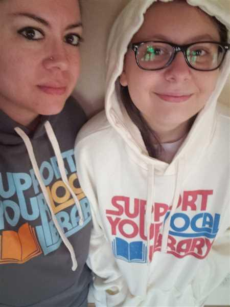 Boredwalk Support Your Local Library Unisex Hoodie Review