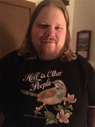 Michael B. verified customer review of Men's Hell Is Other People T-Shirt