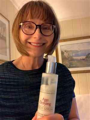 Susan E. verified customer review of Body Serum