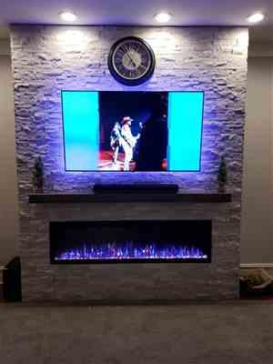 Mark Wolters verified customer review of Sideline Elite 72 Recessed Electric Fireplace