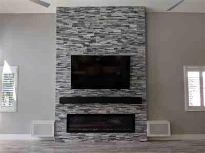 James verified customer review of Sideline Elite 72 Recessed Electric Fireplace