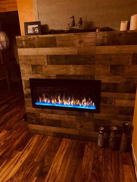 Jim Miller verified customer review of Sideline Elite 42 Recessed Electric Fireplace