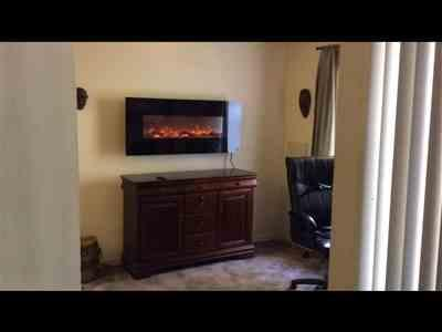 Deborah Williams verified customer review of Onyx 80001 50 Wall Mounted Electric Fireplace