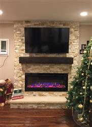 Christopher T. verified customer review of Sideline 50 80004 50 Recessed Electric Fireplace