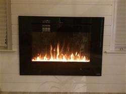 SCOTT I. verified customer review of Forte 80006 40 Recessed Electric Fireplace