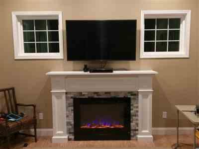 touchstonehomeproducts.com Forte 80006 40 Recessed Electric Fireplace Review