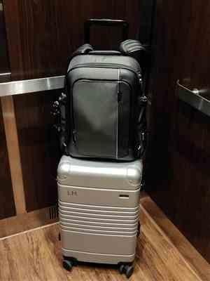 Lafayette H. verified customer review of The Frame Carry-On