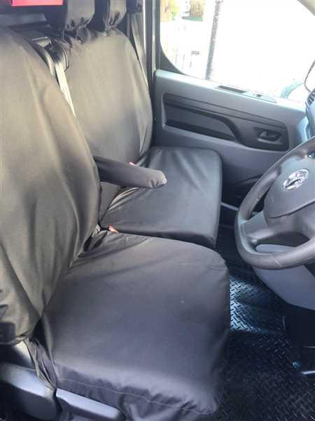 Anonymous verified customer review of Vauxhall Vivaro 2019+ Seat Covers