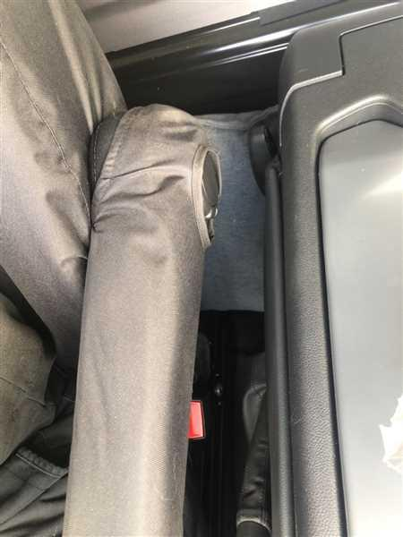 Mr. Sam Stear verified customer review of Renault Trafic Van 2014 Onwards Tailored Front Seat Covers