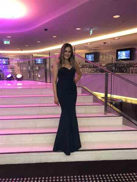 Anonymous verified customer review of ELLE ZEITOUNE Mina Navy Dress - RRP $420