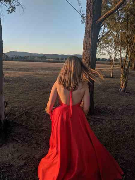 Lauren E. verified customer review of HELDEN THE LABEL Coco Gown (Red) - RRP $499 - 6 / 8-days