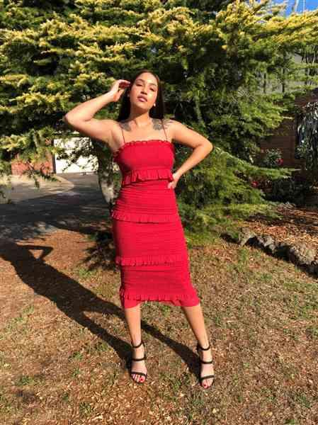 Nonye I. verified customer review of WINONA Xia 3/4 Dress (Red) - RRP $259.95 - S / 4-days