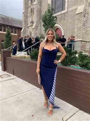 Emily M. verified customer review of LEXI Ramona Dress (Twilight Navy Blue) - RRP $349 - 6 / 4-days