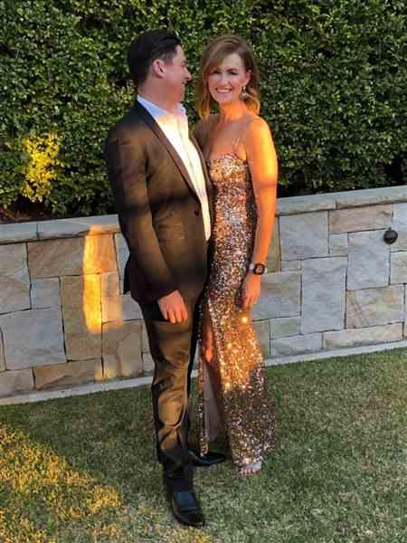 Kellie B. verified customer review of NOOKIE Confetti Gown (Rose Gold)- RRP $389 - XS / 8-days