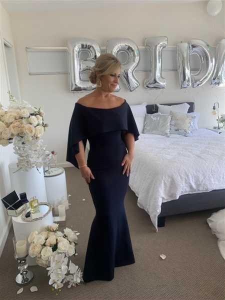Anonymous verified customer review of PASDUCHAS Composure Gown (Navy) - RRP $389