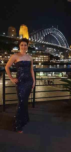 Kathy G. verified customer review of NOOKIE Shanina Gown (Navy) - RRP $499 - M / 4-days