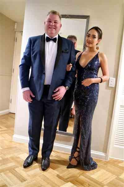 Ratna M. verified customer review of NOOKIE Shanina Plunge Gown (Navy) - RRP $499 - XS / 8-days