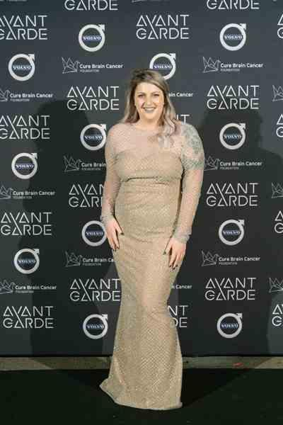 Anna M. verified customer review of PORTIA AND SCARLETT Khloe Gown (Silver) - RRP $499