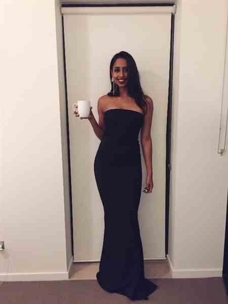 Tamara S. verified customer review of NOOKIE Angelina Gown (Black) - RRP $299