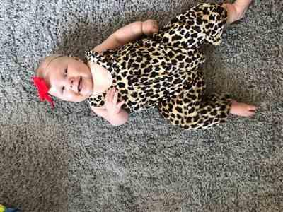 Kolleen H. verified customer review of Dominica Leopard Jumpsuit
