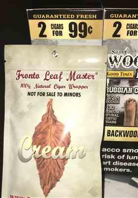 Tobacco Stock Fronto Leaf Master Cigar Leaf Masters Cream Review