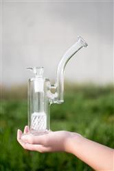 Genevieve A. verified customer review of Boo Glass Upright Bubbler w/Colored Perc