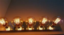 caroline M. verified customer review of Nostalgic Globe G40 Vintage Light Bulb 30 Watt