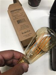 Richard M. verified customer review of LED Filament Edison Light Bulb - ST19 Vintage - 4 Watt - Amber - 2200K