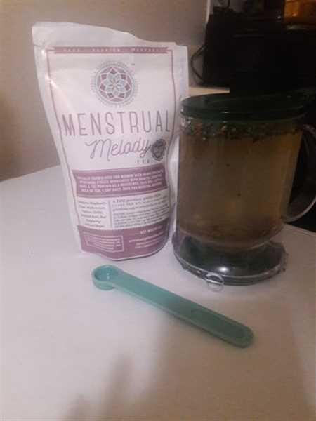 Taneesha W. verified customer review of Menstrual Melody Tea