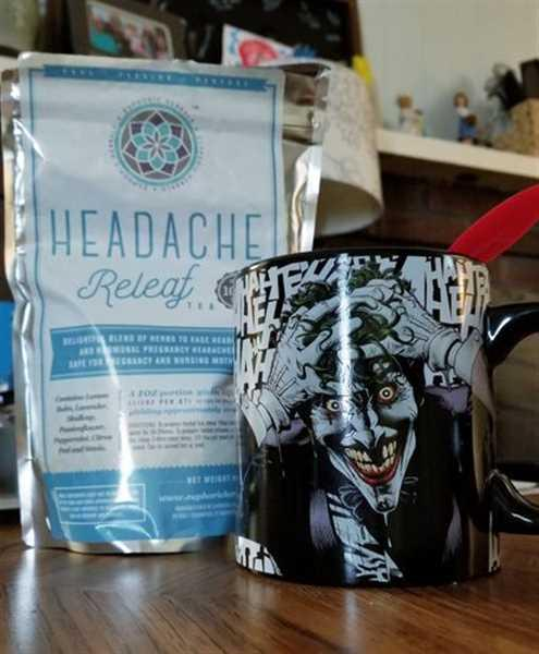 Euphoric Herbals Headache ReLeaf Tea Review