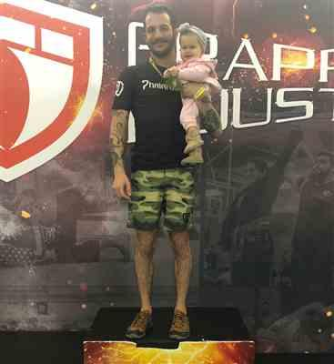 Tayler Born verified customer review of Green Camo RIZR Ultralight Shorts