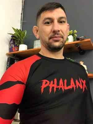 Jose Barraza verified customer review of Beast Mode Long-sleeve Rash Guard