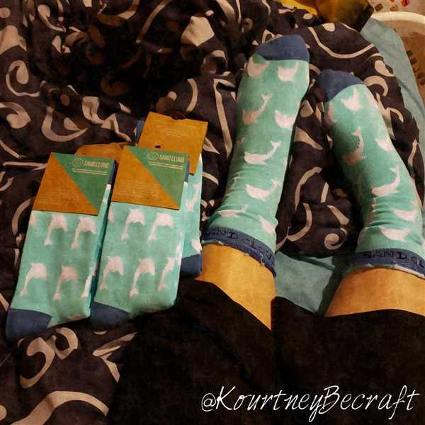 Kourtney Becraft verified customer review of Sea Otter Socks