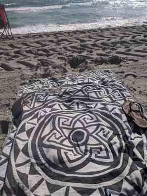 Lara Pluska verified customer review of Mandala Towel