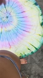hadley m. verified customer review of Wanderlust Tie Dye Roundie