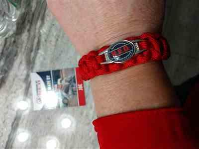 Carol Leonard verified customer review of R.E.D Paracord Bracelet