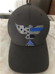 Justin K. verified customer review of LEO Six - Thin Blue Line Eagle Hat