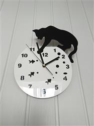 GeekyGet Fishbowl Cat Clock Review