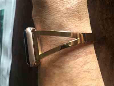 Anonymous verified customer review of Clasp Stainless Steel Apple Watch Band