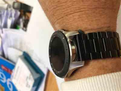 Mark M. verified customer review of Classic Stainless Steel Samsung Galaxy Watch Band