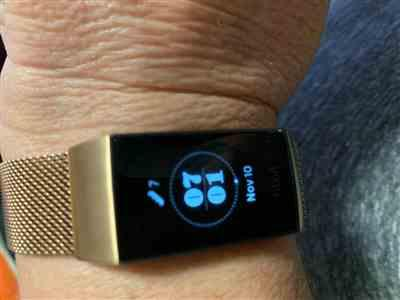Christine Lilburne verified customer review of Milanese Loop Fitbit Charge 3 Bands