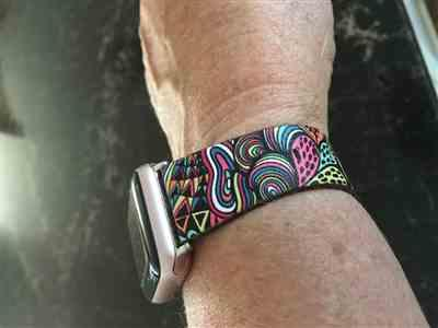 Pam Urquhart verified customer review of Tribal Apple Watch Band